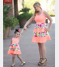 Mother Daughter Boho Stripe Maxi Dress Mommy Me Sundress Dress matching outfits
