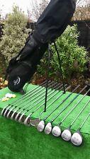 Mens Gripit Pro Choice Slazenger Full Golf Clubs Set Irons Woods Bag Right Hand