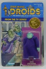 1985 vintage SISE FROMM Kenner Star Wars MOC action figure DROIDS cartoon RARE !
