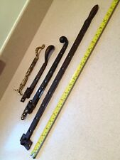 Antique Iron Window Catches Fasteners X 4 Architectural Reclaimed Old Vintage