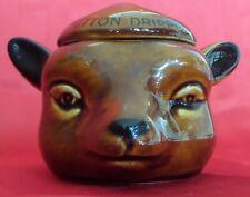 Rare! Vintage Szeiler Studio Beef And Mutton Dripping Ceramic Jar