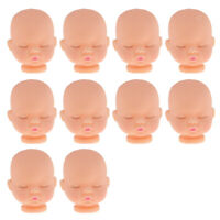 30 lot Cute Miniature Sleeping Baby Bald Head DIY Accs Parts Simulation Doll