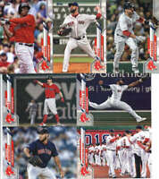 2020 Topps Series 1 Boston Red Sox Team Set of 12 Cards