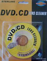 Sterling DVD / CD  Lens Cleaner, Media Repair, Car Radio, # 731015036783