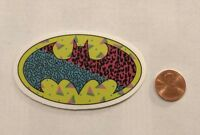 Batman Cheeta Print Sticker Girly Stickerbomb Skateboard Decal Car Window Laptop