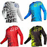 Hot FOX Racing 180 Riding Jersey T-shirts Men Motocross/MX/ATV/BMX/MTB Dirt Bike