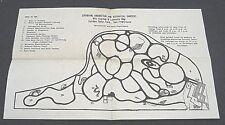 1970s Strybing Arboretum & Botanical Gardens Map-San Francisco Golden Gate Park