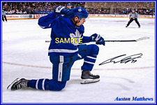 4x6 SIGNED AUTOGRAPH PHOTO REPRINT Auston Matthews Toronto Maple Leafs #TP