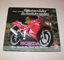 Honda V4-Modelle - Motorräder die Geschichte machten!