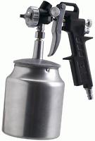 FERM ATM 1039 Farbspritzpistole mit Saugbecher Lackierpistole für Druckluft NEU