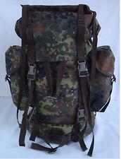 Original Bundeswehr Combat Backpack Large 65L Flecktarn Outdoor Trekking