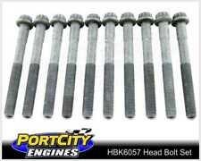 Head Bolt Set Peugeot 4cyl XU10J4R 306 XSi Citron Xantia 2.0L from 08582 HBK6057