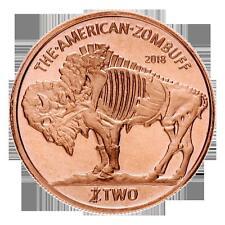 1 Unze Copper Round Zombucks Zombuff  999,99 AVDP