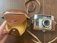 OPTIMA III 3 CAMERA 35mm film viewfinder made by Agfa VINTAGE 1960 Leather Case