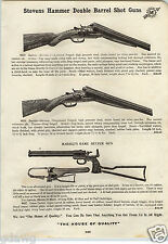 1913 PAPER AD Marble's Game Getter Gun .22 Caliber