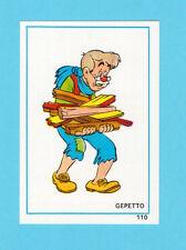 Gepetto of Pinocchio 1976 Walt Disney Spanish Card