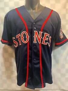 THE ROLLING STONES World Tour 2005 Baseball Jersey Size S