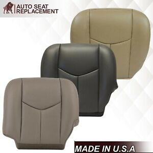 2003 - 2007 Chevy Silverado Avalanche Sierra Replacement Seat Cover In Leather