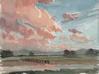 GEORGE GRAINGER SMITH 1892-1961 Watercolour Painting RIVER KENT LANDSCAPE 1939