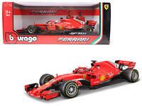 Bburago 1:18 Formula F1 Ferrari Racing SF71H Sebastian Vettel #5 Model 16806 SV