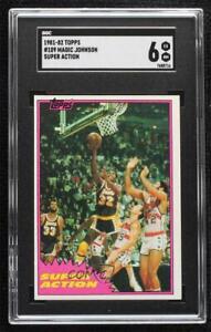 1981-82 Topps Magic Johnson #109 SGC 6 HOF