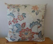 Handmade Floral Cushion Cover Oriental Decorative Throw Pillow Cotton Fabric 18""