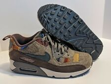 Nike ID Pendleton Air Max 90 Athletic Shoes Women's Size 9 Special Fall Edition