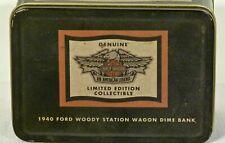Harley-Davidson Collectible Ford Woody Station Wagon Dime Bank #99222-95V NEW!!!
