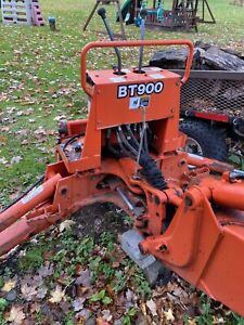 Kubota L35 Back Hoe Attachment