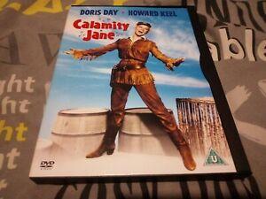CALAMITY JANE  dvd snapper, snap/keep case cert u used Doris day