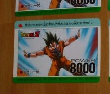 DRAGON BALL Z DBZ AMADA PP PART 14 CARD CARDDASS CARTE 556 MADE IN JAPAN **