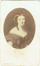 Photo cdv : Bingham ; Portrait de l'Impératrice Eugènie d'après gravure