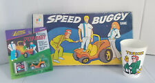 Vintage Lot of Hanna Barbera Speed Buggy collectible Gold