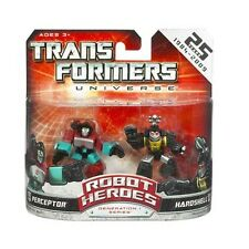 TRANSFORMERS UNIVERSE ROBOT HEROES PERCEPTOR & HARDHSELL G1 SERIES NEW