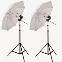 LED Photo Video Studio Umbrella Light Kit  Steve Kaeser Photographic Lighting