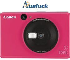 """Canon Inspic C Instant Camera - Bubblegum Pink """"AUSLUCK"""""""