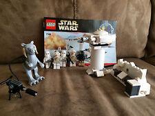 Lego Star Wars 7749 Echo Base w/ 5 Mnifigs 100% Set 2009 Retired 155pcs