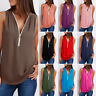 Fashion Women Summer Loose Vest Top Sleeveless Casual Blouse Tank Tops T-Shirt