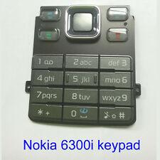100% Genuine Original Nokia 6300i Keypad Fascia Housing - dark grey