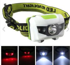 XANES 1200 Lumen R3 + 2LED 4 Modalità Super Luminosa Mini Luce Lampada da Testa