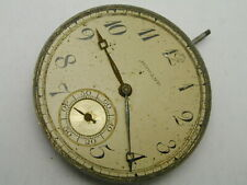 HOWARD 10S 17JEWELS POCKET WATCH MOVEMENT DIAL PERFECT BALANCE