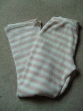 Love to Lounge Pyjamas Trousers Soft feel pink/stripe - VGC Size Medium 10/12