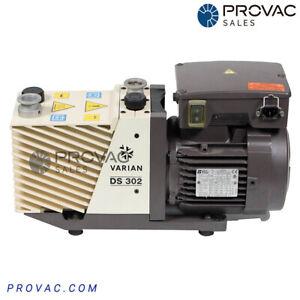 Varian DS-302 Rotary Vane Pump, Rebuilt by Provac Sales, Inc.