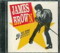 """JAMES BROWN """"20 All Time Greatest Hits!"""" CD-Album"""