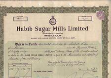 Pakistan, Habib Sugar Mills, 1963