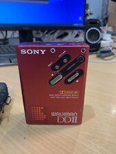 Sony Walkman DD2 RED