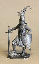 Germanischer Ritter mit Doppelschwert,  German knight, 54mm