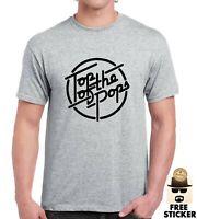 Haut Du Pops T-Shirt Classique 1960's Musique Britannique TV Vêtements Homme S -