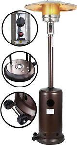 Patio Heater - Propane Outdoor Heater 48000BTU, Outdoor Patio Heater