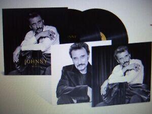 JOHNNY HALLYDAY  ACTE II   double LP  +  2 photos  édition exclusive  1000 ex.